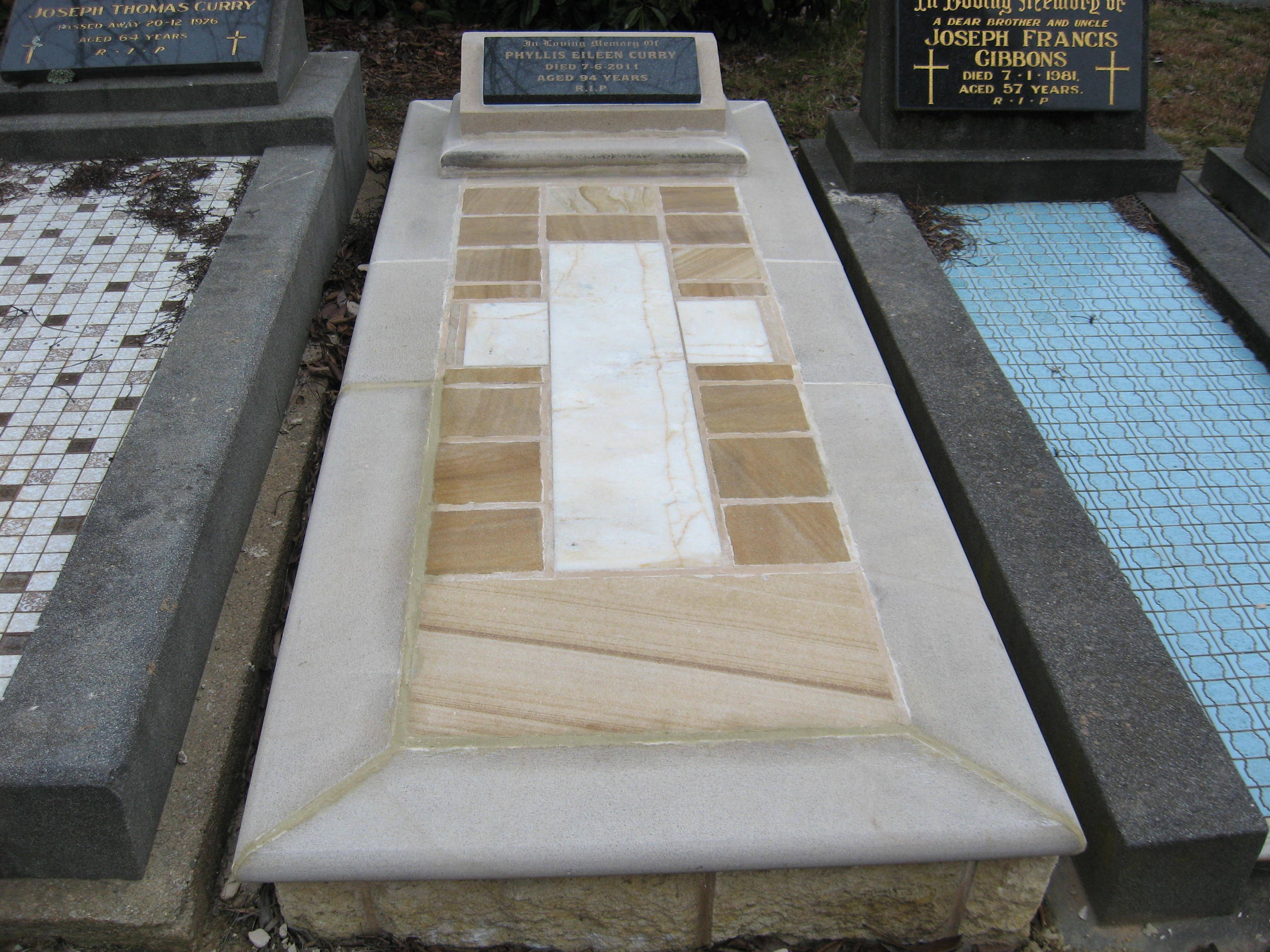 Sandstone and Marble Memorial