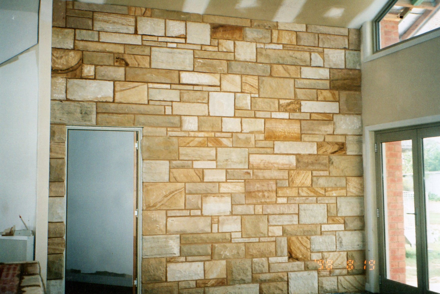 Sandstone Feature Wall