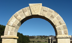 Arch with Celtic Keystone