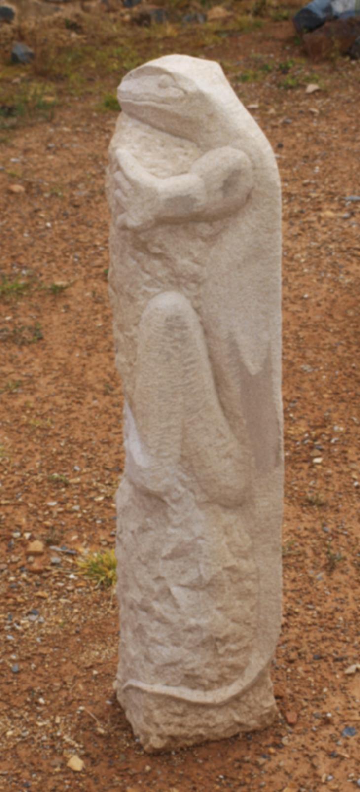 Lizard Standing Stone