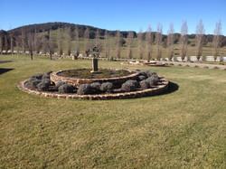 Circular Basalt Garden Beds