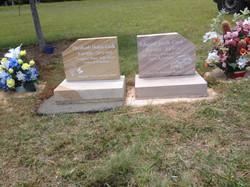 Sandstone Base and Headstone