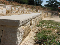 Capping to Sandstone Walls