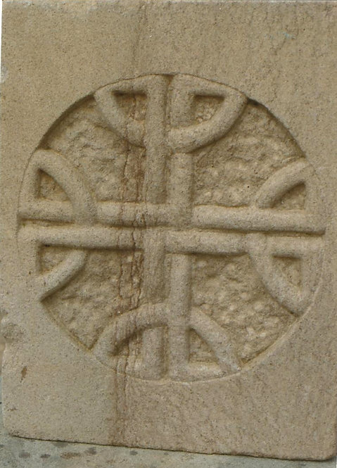 Celtic carving