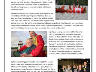 December Beacon News - Marriage Proposal on Canada Day