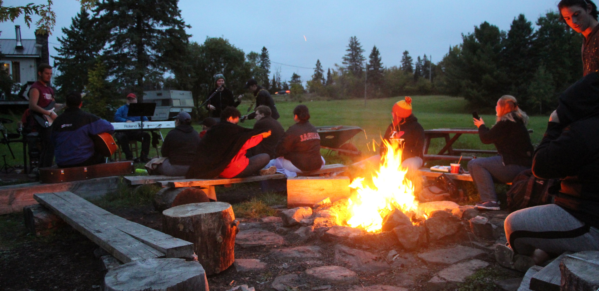 Group Camp-fire Area