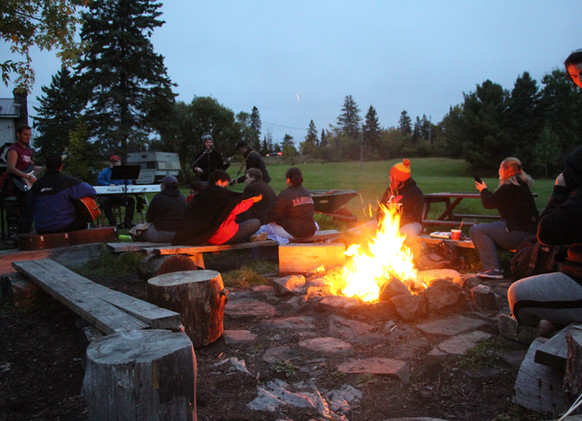 Group Camp-fire Area