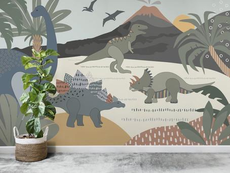 Çocuk Odalarında Duvar Kağıdı Önerileri