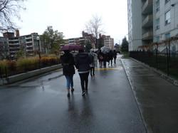 Even in the rain