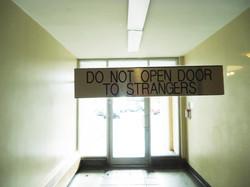 Do Not Open Doors to Stranger