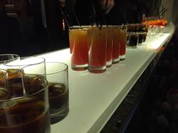 Приветственные коктейли на презентац