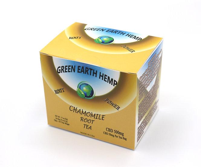 CBD Tea - Chamomile Root Tea Box - 500mg