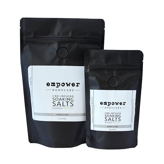 Empower - CBD-infused Soaking Salts 4/16 oz