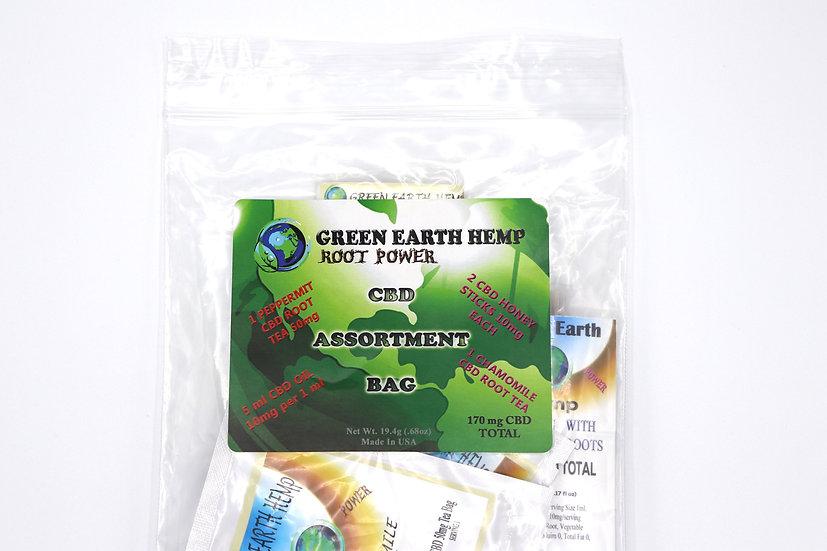 CBD Assortment Bag - Green Earth Hemp - 170mg