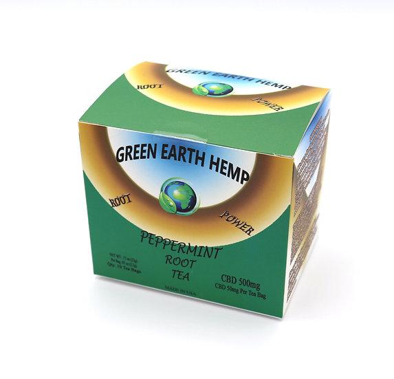 CBD Tea - Peppermint Root Tea Box - 500mg