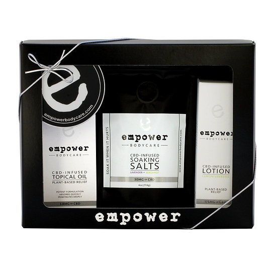Empower - Gift box- CBD Topical Relief Lotion