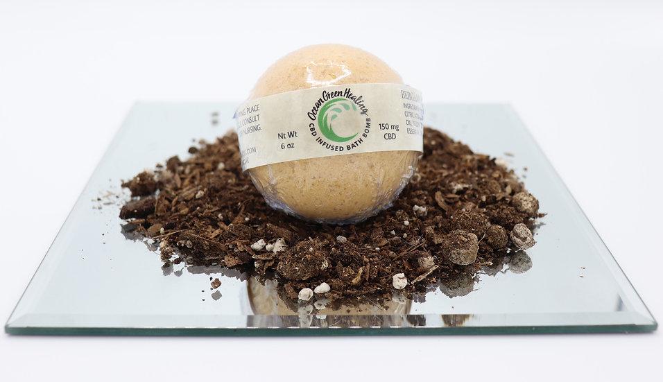 Bath Bomb- Bergamot and Lemongrass