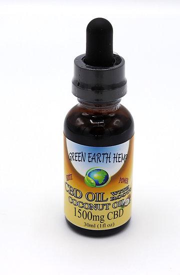 Green Earth Hemp CBD tincture 1500mg