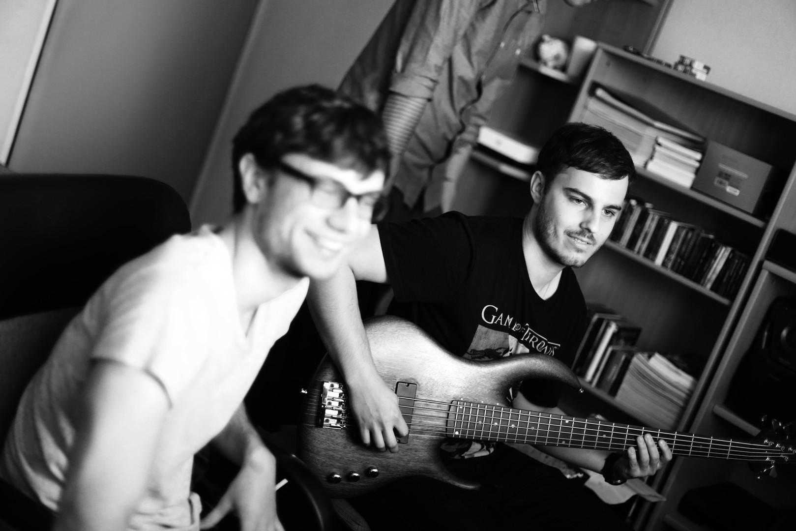Nagrania basu z zespołem My
