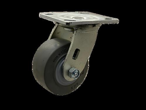 Swivel 4x2 TPR Wheel