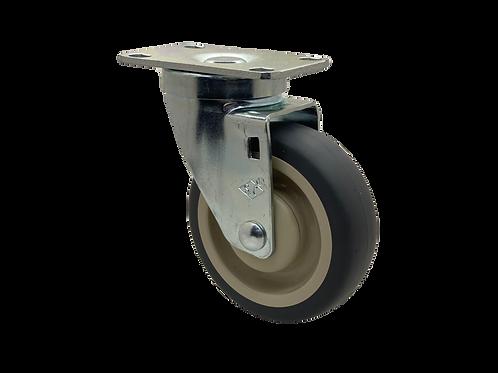 Swivel 4x1-1/4 TPR Wheel