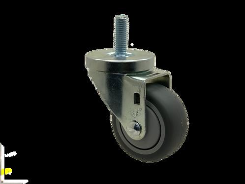 Swivel 3x1-1/4 TPR Wheel
