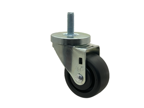 Swivel 3x1-1/4 Polyolefin Wheel
