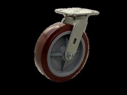 Swivel 8x2 Poly On Poly Wheel