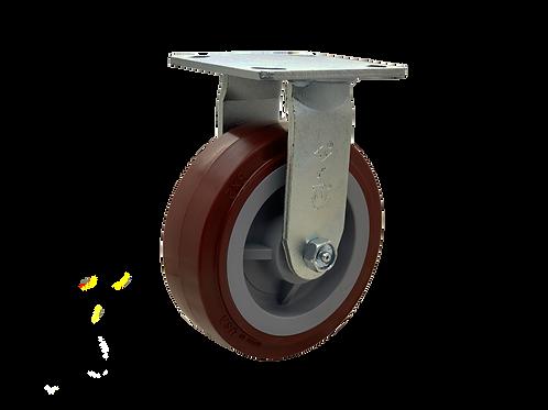 Rigid 6x2 Poly On Poly Wheel