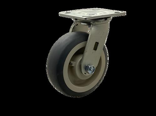 Swivel 6x2 TPR Wheel