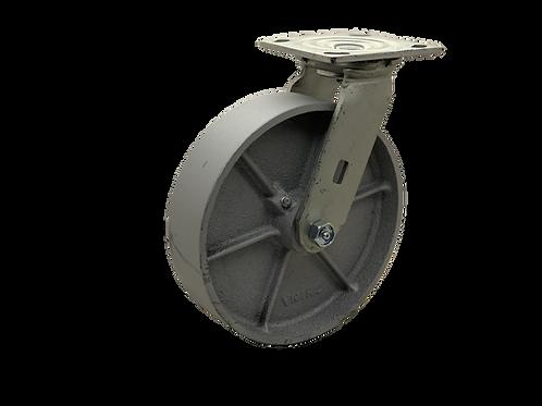 Swivel 8x2 Steel Wheel