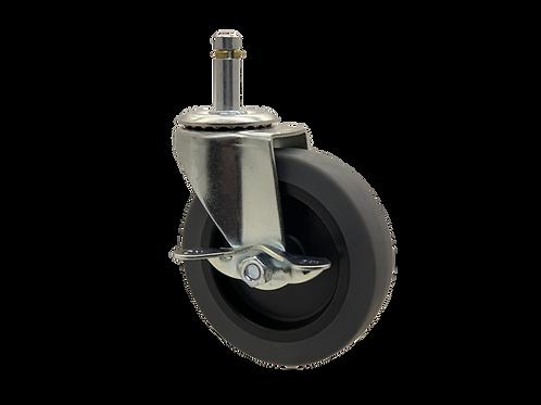 Swivel 4x1 TPR Wheel Side Brake