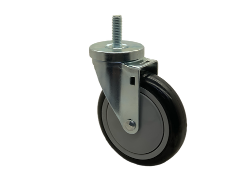 Swivel 5x1-1/4 Poly On Poly Wheel