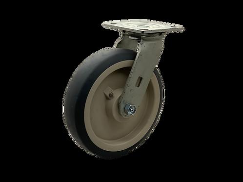 Swivel 8x2 TPR Wheel