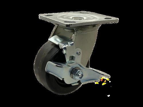 Swivel 4x2 Phenolic Wheel Top Lock Brake
