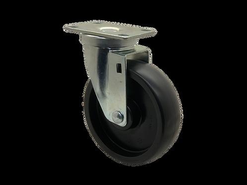 Swivel 5x1-1/4 Polyolefin Wheel