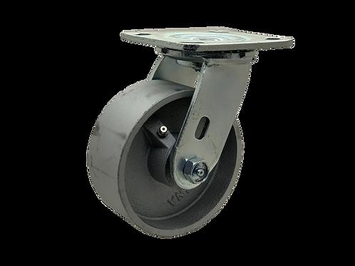 Swivel 5x2 Steel Wheel