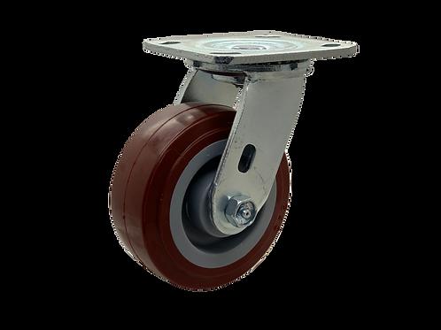 Swivel 5x2 Poly on Poly Wheel