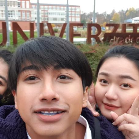 นักศึกษาวิทยาลัยนานาชาติ ได้เดินทางไปประเทศ Czech Republic เพื่อเป็นนักศึกษาแลกเปลี่ยน