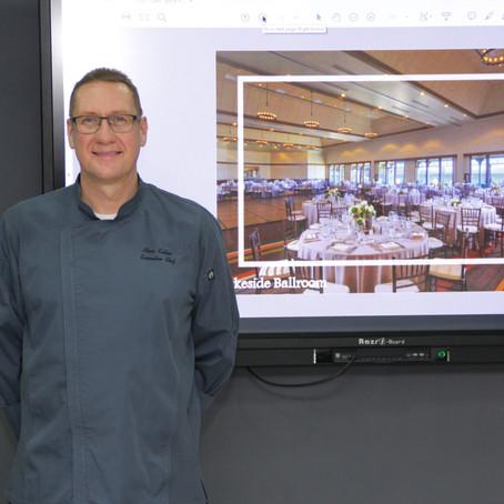 """สัมมนาในหัวข้อ """"การทำงานในธุรกิจโรงแรม"""" โดย Executive Chef, จากโรงแรม Hyatt Regency Lake Tahoe NV"""