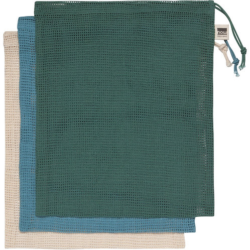 Now Designs Reusable Produce bags Set of 3 in PINE