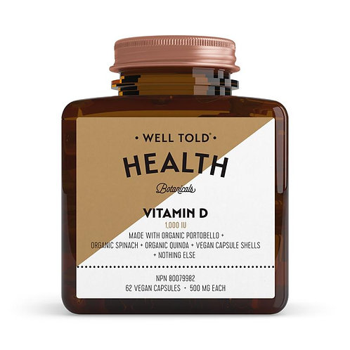 Well Told Health Vitamins VITAMIN D