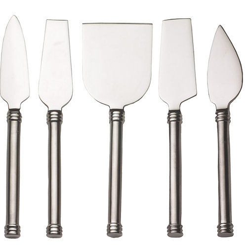 RSVP Cheese Knives Set of 5