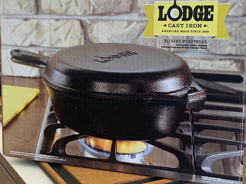 Lodge Combo Fryer and Skillet
