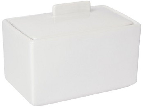 Now Designs White 1lb Butter Dish