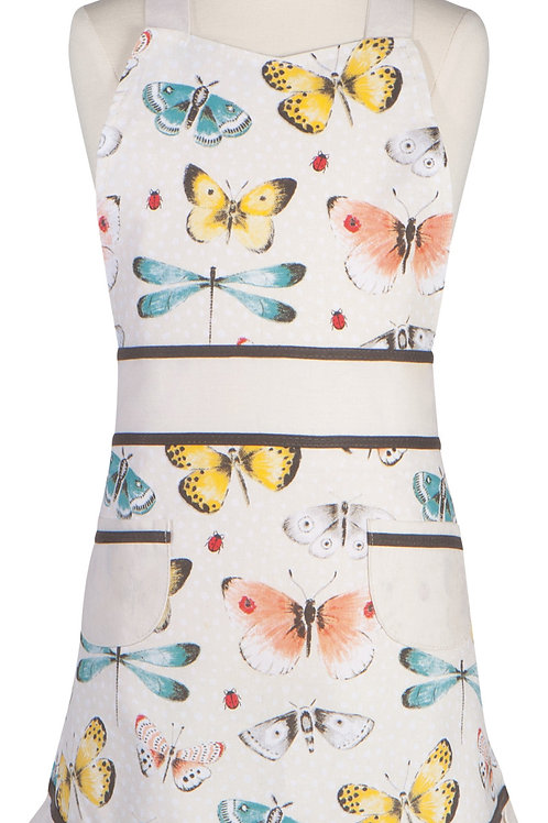 Now Designs Sally Kids Apron FLY AWAY