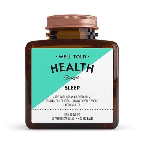 Well Told Health Vitamins SLEEP