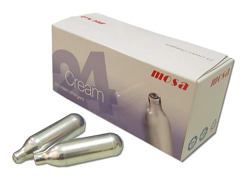 Mosa Whipped Cream Charger Box of 24