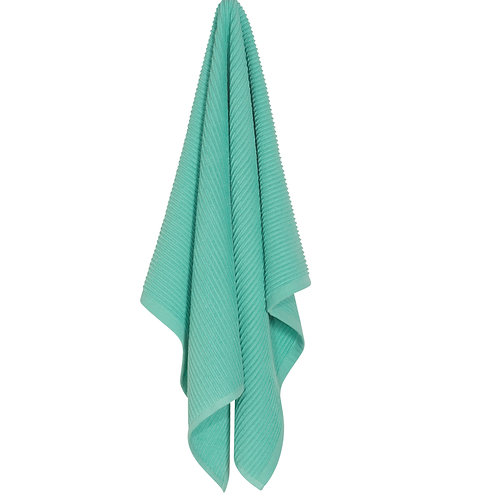 Now Designs Lucite Green Ripple Dish Towel