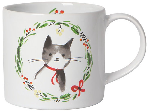 Now Designs Jingle Cat Mug in Gift Box
